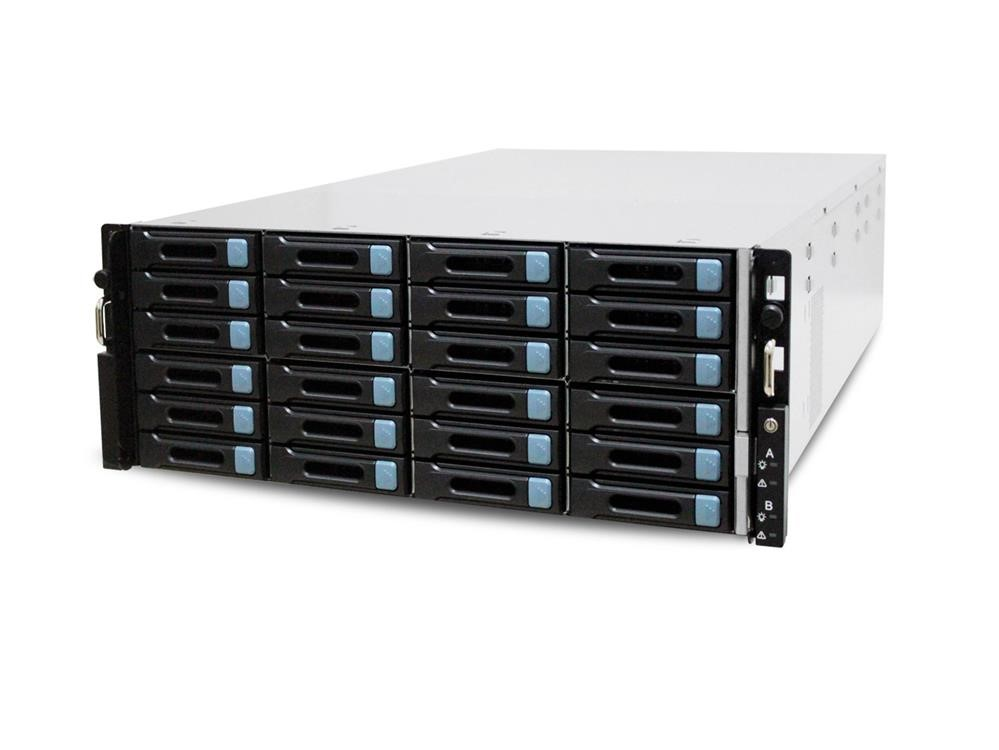 DS-4024-HA/R3 2 x Intel® Xeon® Processors E5-2600v4 High-Capacity Failsafe Data Storage System