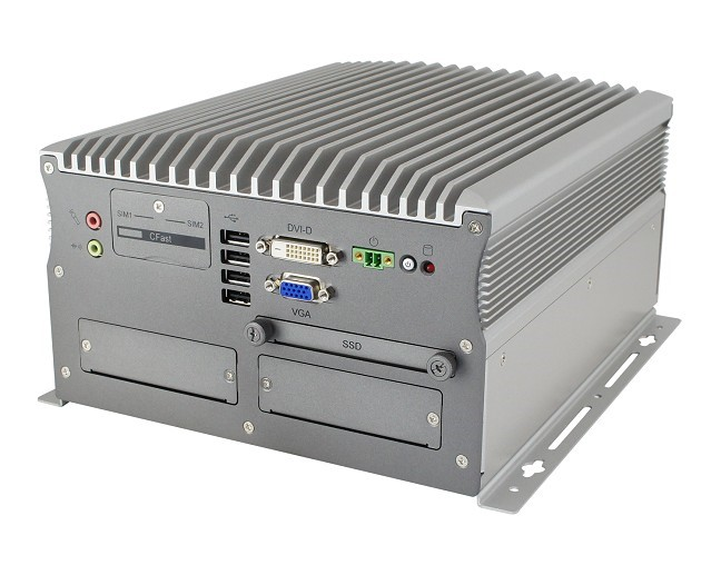 ER-7100 Intel® Core™ i7/i5/i3/Pentium/Celeron High-Performance Fanless Computer