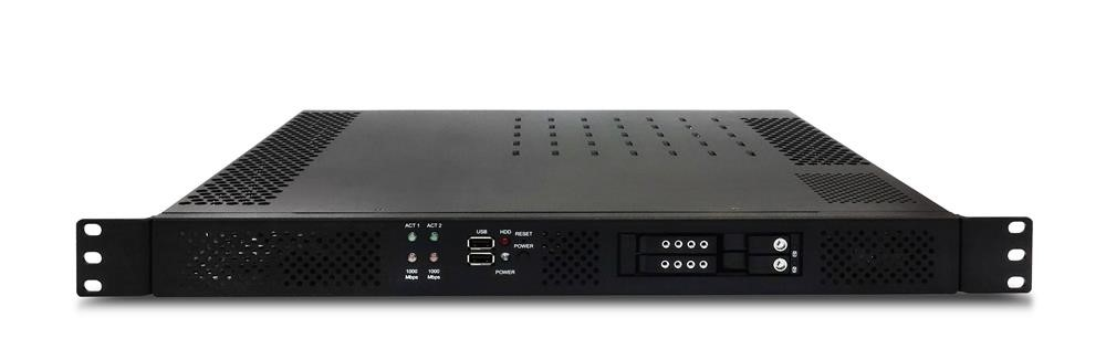 IS-SYS10FN (Advantix - powered by Fastwel) 1U Intel® Xeon® D-1541 Compact Fanless Industrial Server
